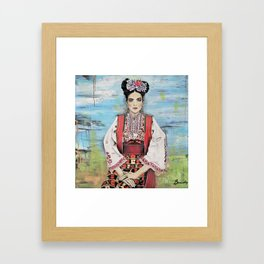 Đula Framed Art Print
