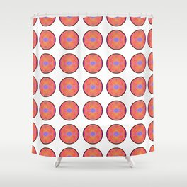Tryptile 42 (Circular) (Repeating 2) Shower Curtain