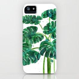Monstera iPhone Case