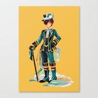kuroshitsuji Canvas Prints featuring Ciel Phantomhive by niarchery