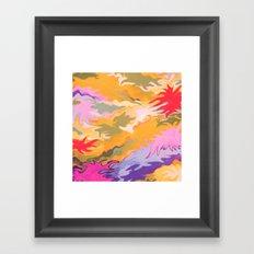 Desert Camo Framed Art Print