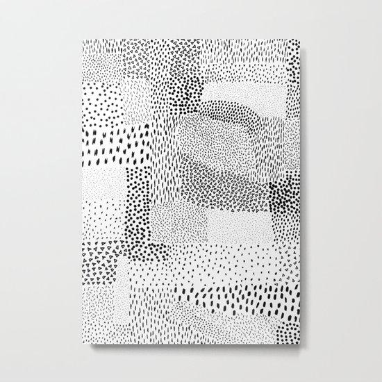 Graphic 81 Metal Print
