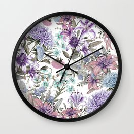 FLORAL GARDEN 11 Wall Clock