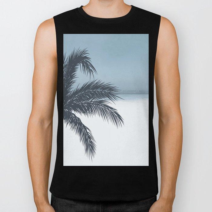 Palm and Ocean Biker Tank