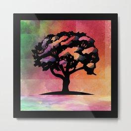 Color Tree Metal Print