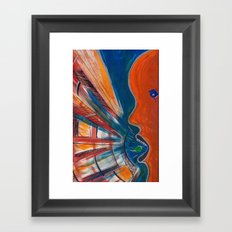 GRITOS Framed Art Print