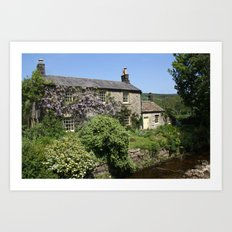 A Chocolate Box Cottage Art Print