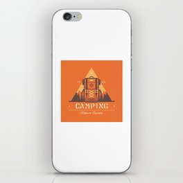 Camping Tippi iPhone Skin