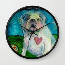LoveABull Wall Clock