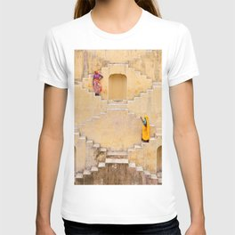Amber Stepwell II, Rajasthan, India T-shirt