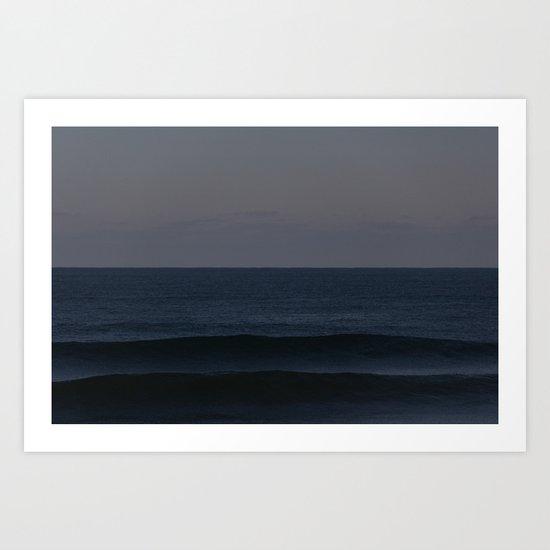 Ocean Shadows Art Print