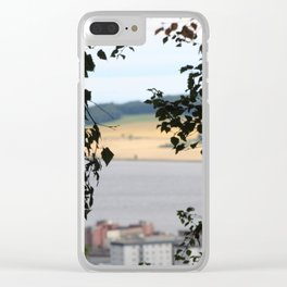 Through the Bushe Clear iPhone Case