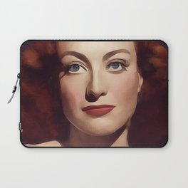 Joan Crawford, Hollywood Legend Laptop Sleeve