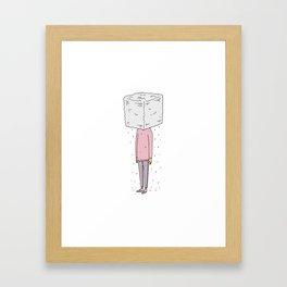 It's Rainin' Framed Art Print