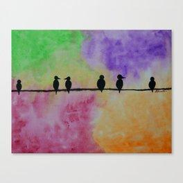 Birds in Paradise Canvas Print