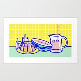 Jelly Lifestyle Art Print