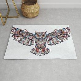 Colorful Ethnic Owl Rug