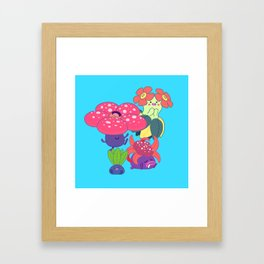 Odd Family Framed Art Print