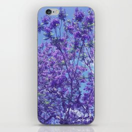 Purple Jacaranda iPhone Skin