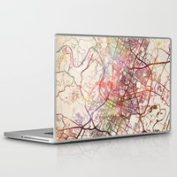 austin Laptop & iPad Skins featuring Austin by MapMapMaps.Watercolors