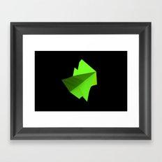 wind data form - june Framed Art Print