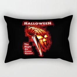 HALLOWEEN - The night he come home Rectangular Pillow
