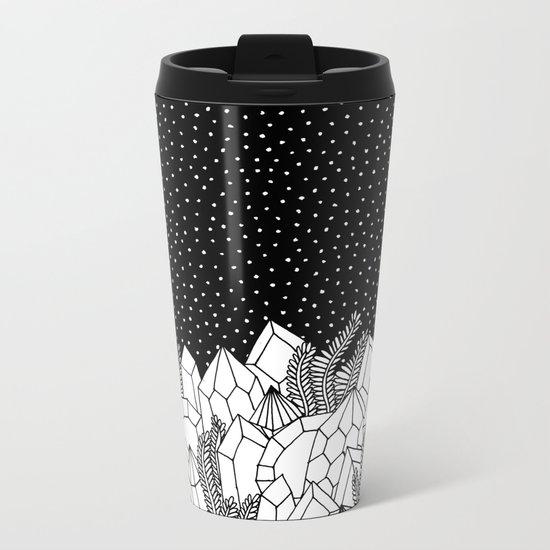 Cosmic Crystals Metal Travel Mug