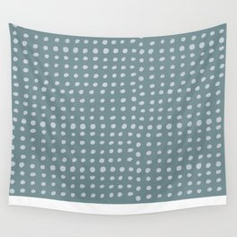 Slate x Dots Wall Tapestry