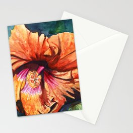 Tropical Hibiscus 9 Stationery Cards
