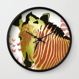 Funky Zebra Style  No1 Wall Clock