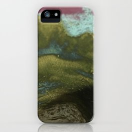 blue rush iPhone Case