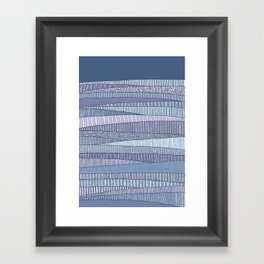 Winter Fields Framed Art Print