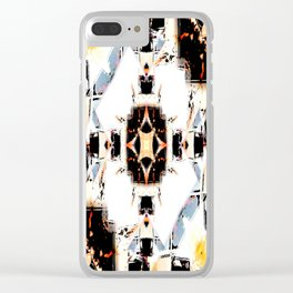 Toltec Clear iPhone Case