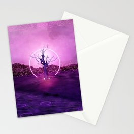 2077 landscape Stationery Cards