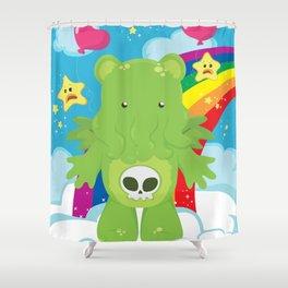 Cthulhu Care Bear Shower Curtain
