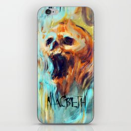 Macbeth Poster - Original Art by Kyle T. Webster iPhone Skin