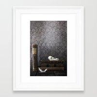 library Framed Art Prints featuring library by Joana Kruse