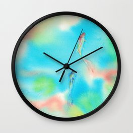 CNY Fish Wall Clock