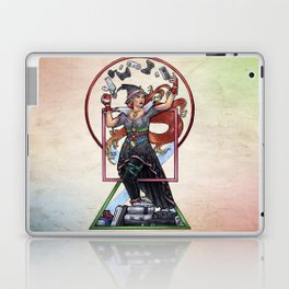 QT Witch by Bobbie Berendson W Laptop & iPad Skin