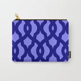 Grille No. 2 -- Blue Carry-All Pouch