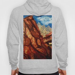 Mountain Collage Hoody