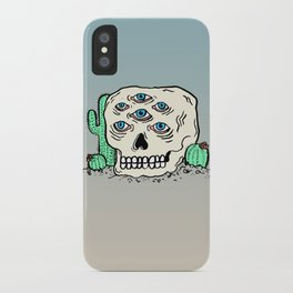 DIE IN THE DESERT iPhone Case