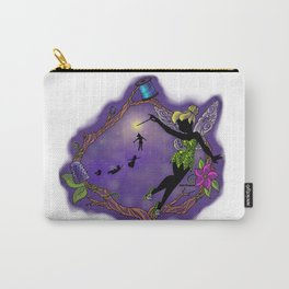Sihouette Tinker Bell Carry-All Pouch