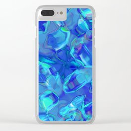 Abstract ABC MZZZ Clear iPhone Case