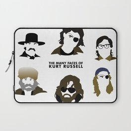 Many Faces of Kurt Russell Laptop Sleeve