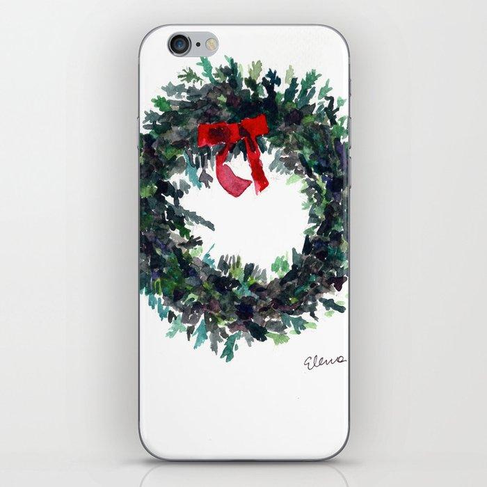 Christmas Wreath iPhone Skin