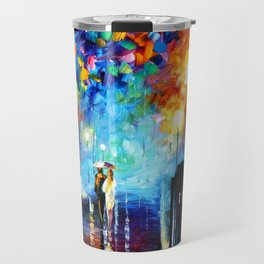 STARRY NIGHT TARDIS Travel Mug