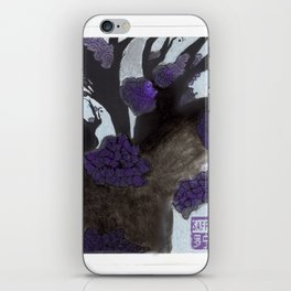 Purple Cherry Blossoms (2 of 3) iPhone Skin