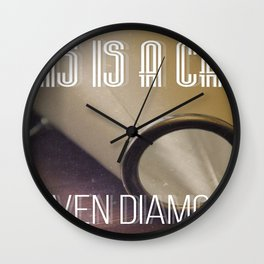This Is A Call Wall Clock