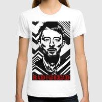 radiohead T-shirts featuring RadioHead by Pan Trinity Das